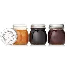 Glass Preserving Jar Set