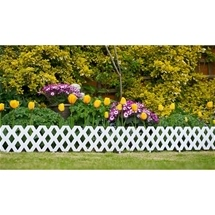 Garden Lattice Border 4pc