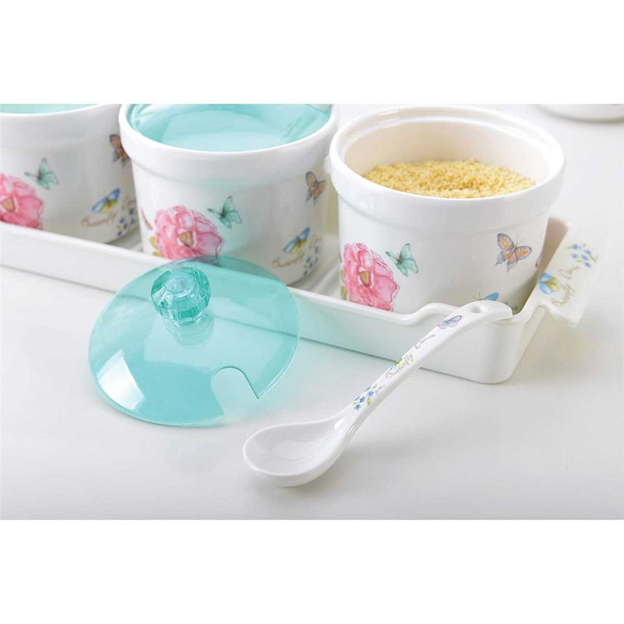 Seasoning Set with Spoons & Tray_FD37_2