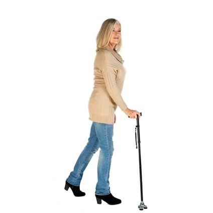 Self-Standing Walking Stick